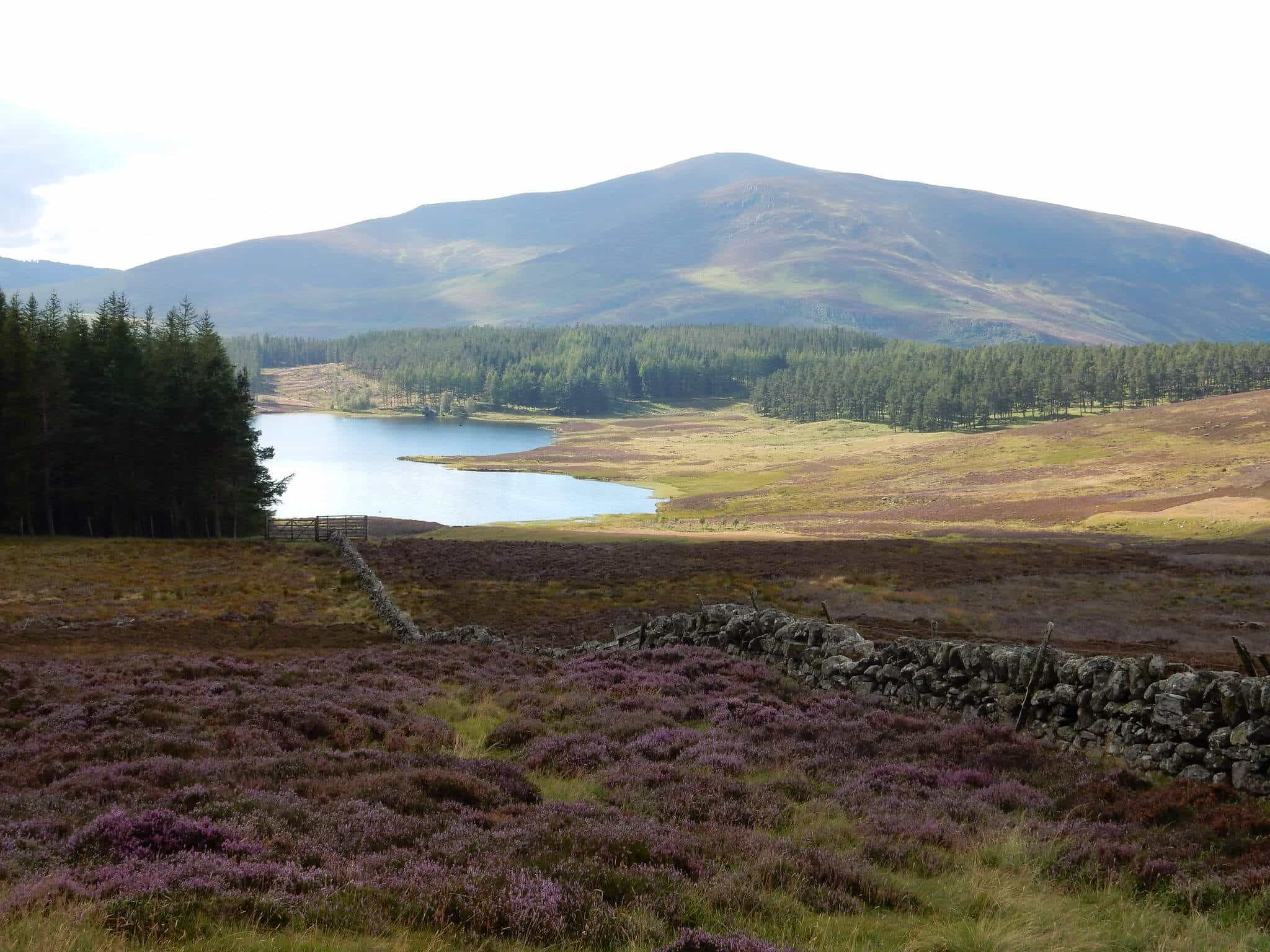 Kirkton of Glenisla, Cateran Trail