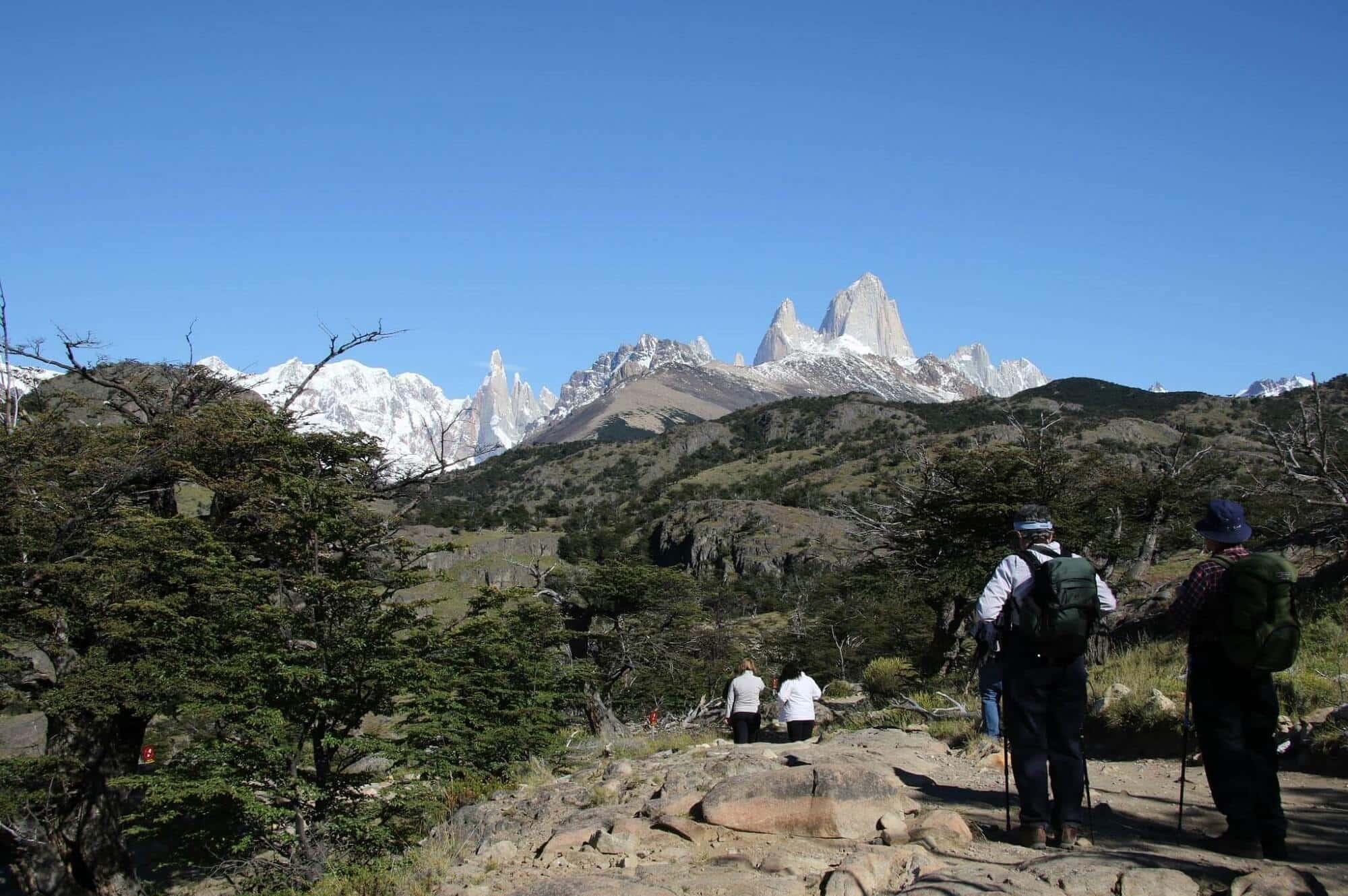 Cerro Torre and Mount Fitz Roy, Patagonia