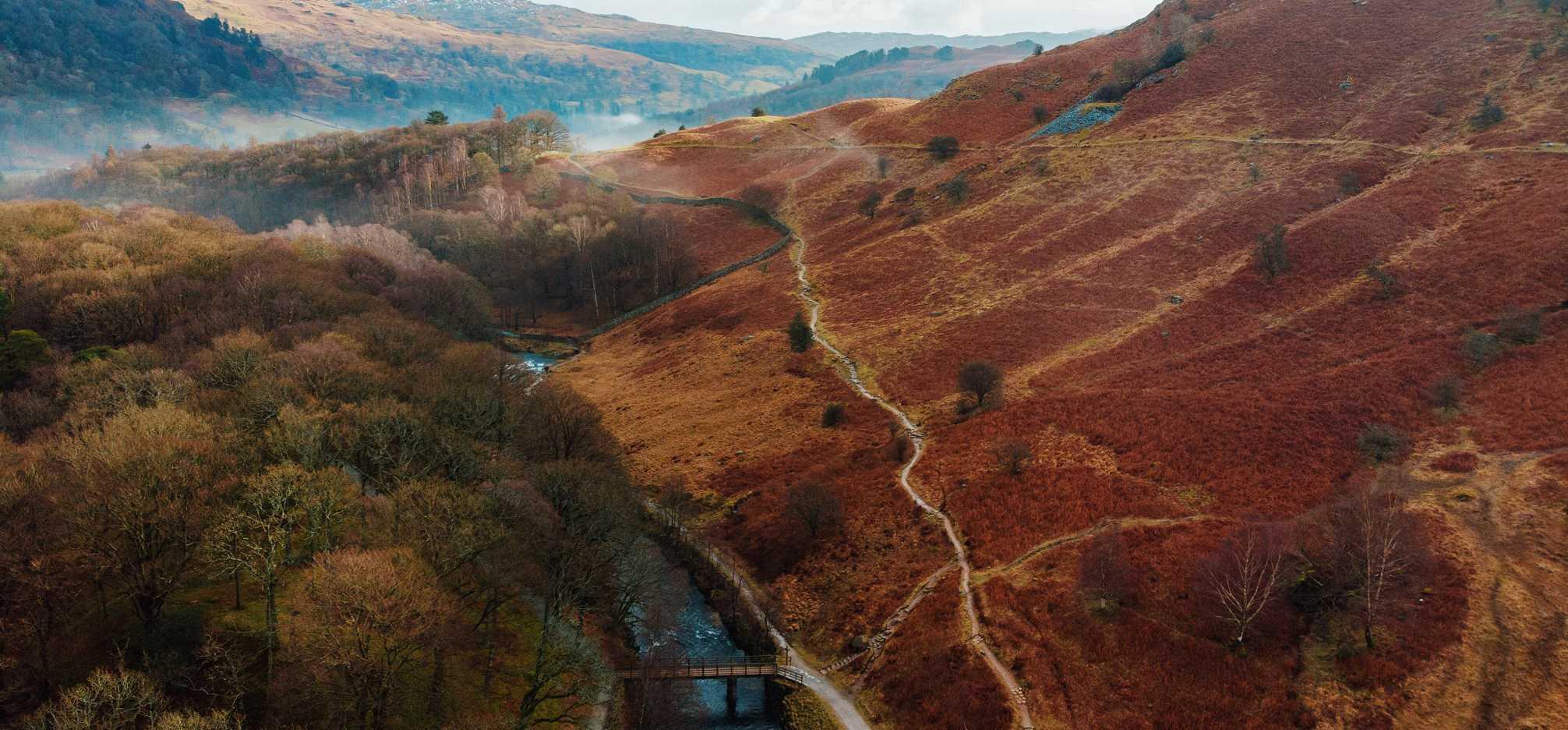 Lake District National Park Autumn