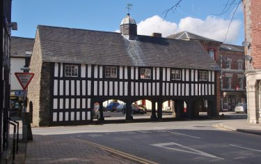 Llanidloes, a charming market town on Glyndwr's Way