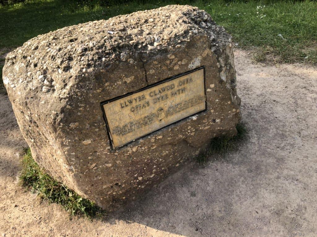 Llwybr Offa's Dyke Marker