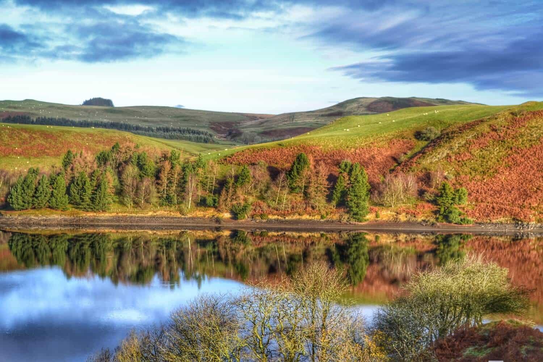 Llyn_Clywedog_near_Llanidloes,_Powys_Glyndwr's_Way