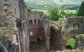 Melrose Abbey, Selwick to Melrose