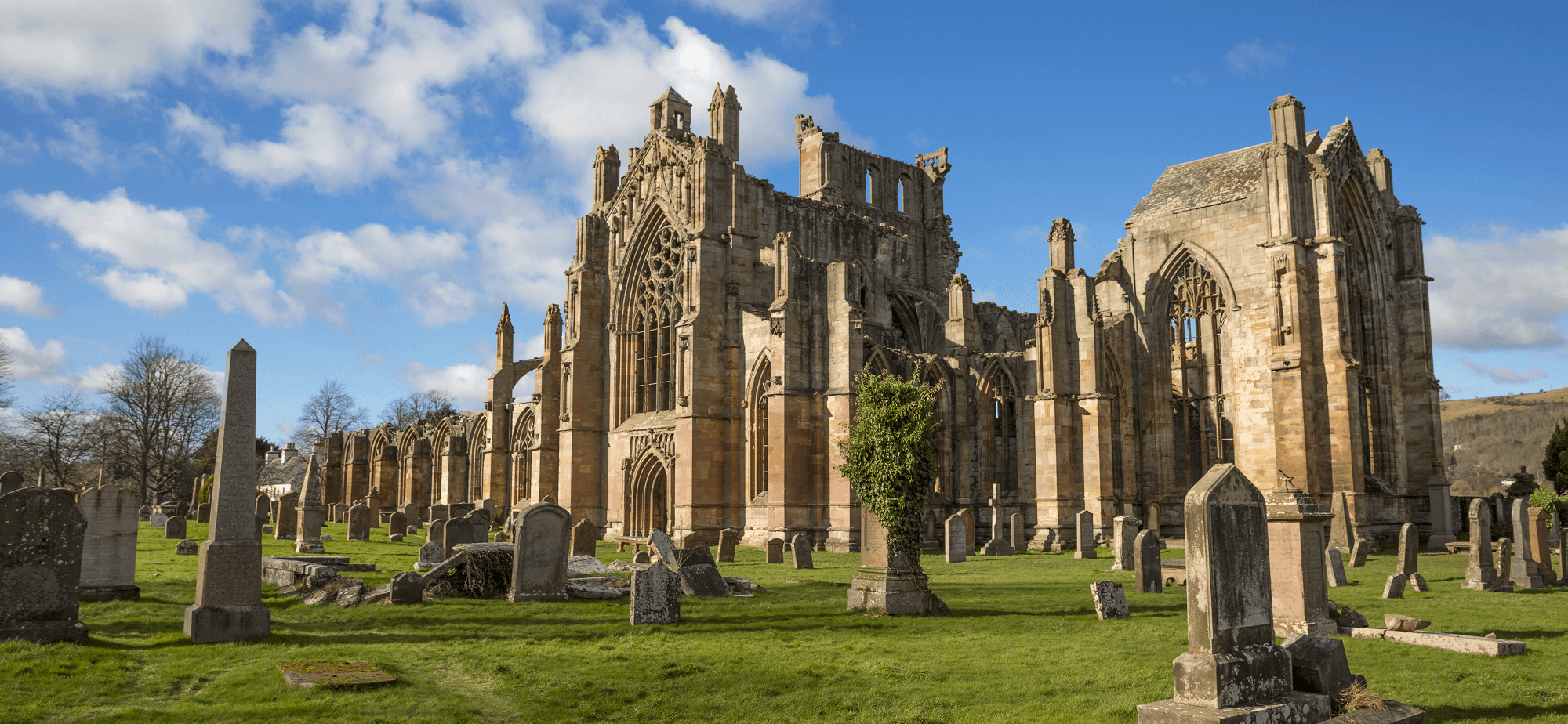 Melrose Abbey, Borders Abbey Way