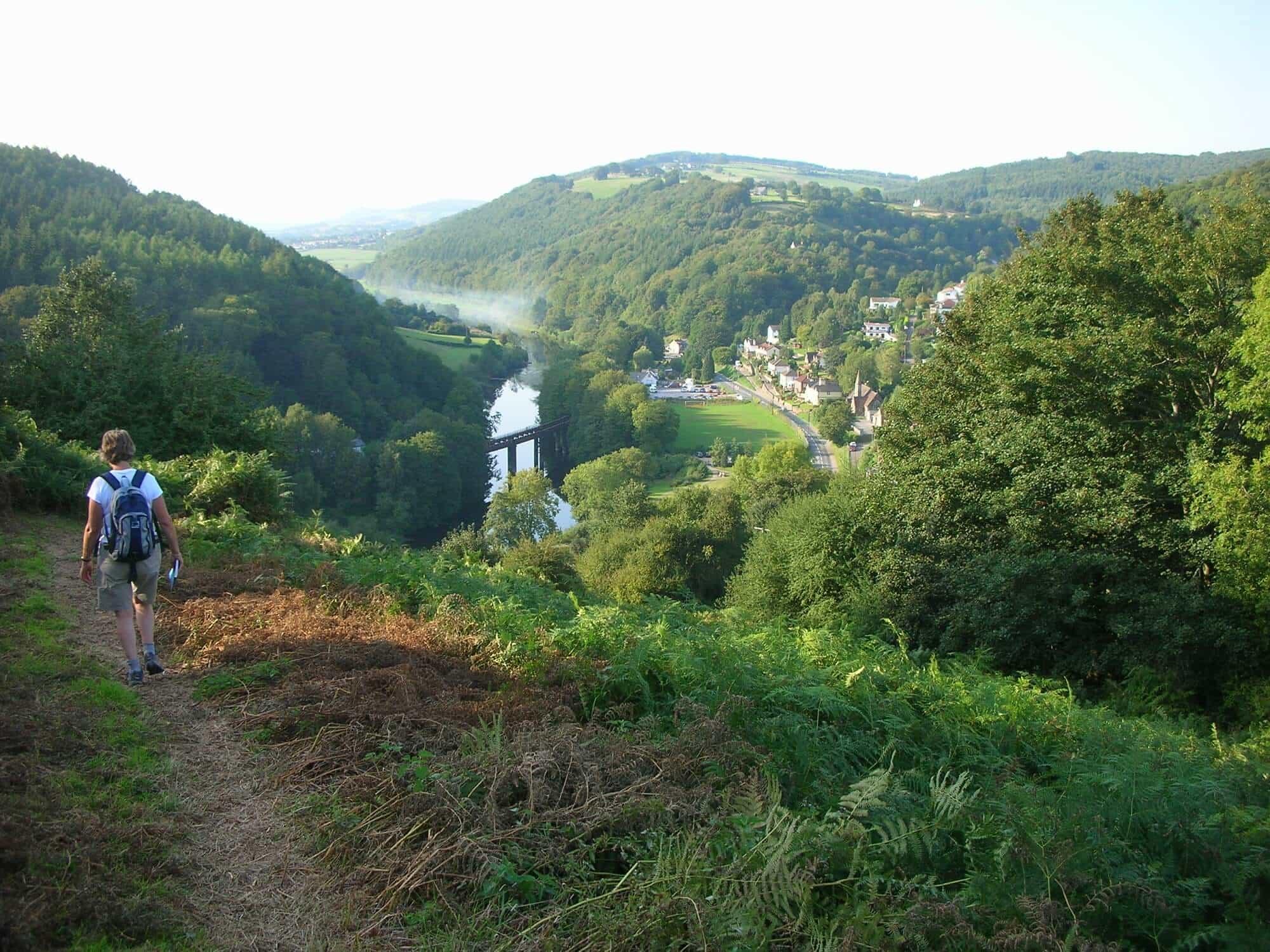 Offas Dyke Path in Wales Walknig Holidays