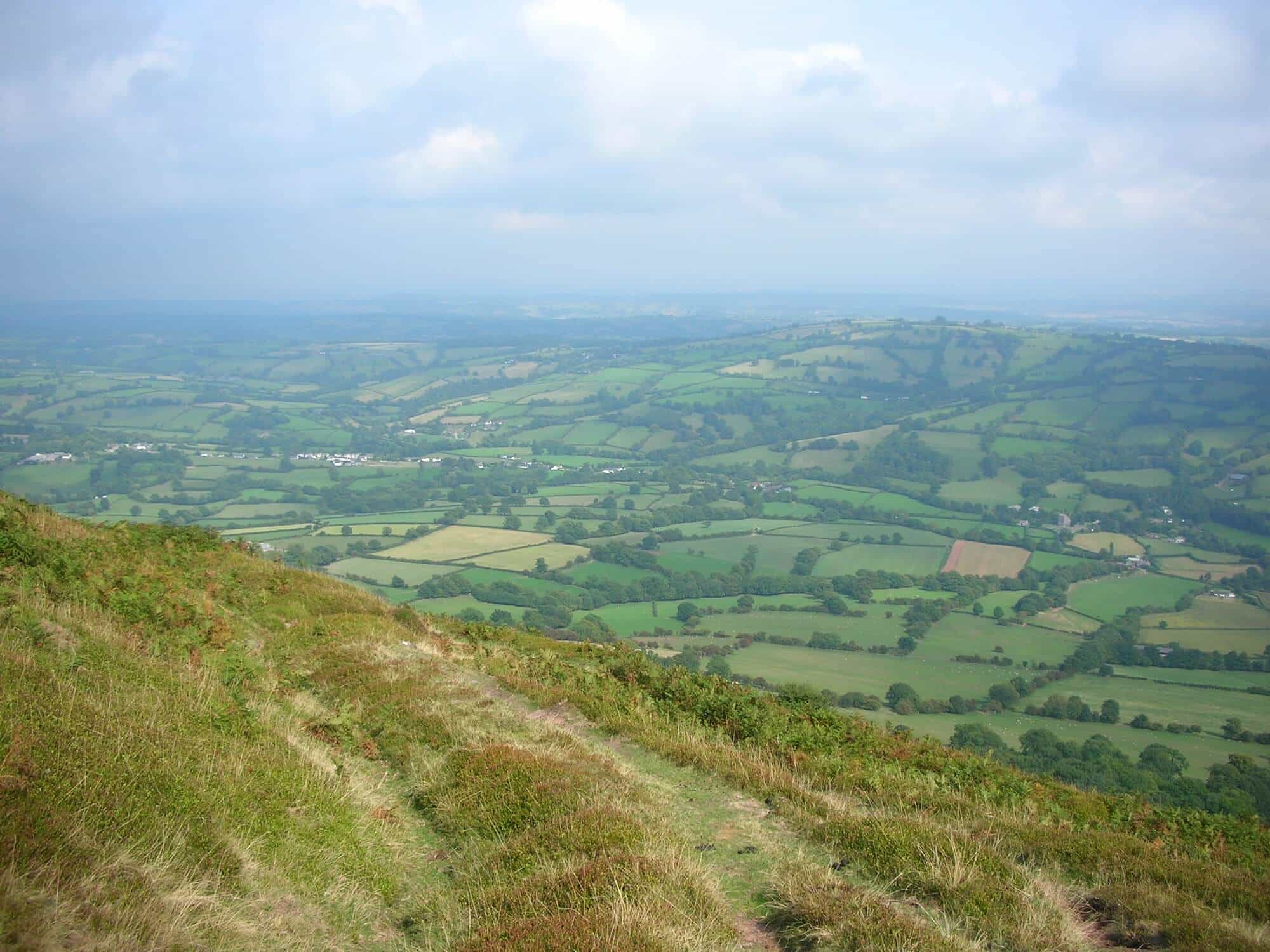 Hiking Offas Dyke Path