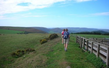 Following the Offas Dyke Path