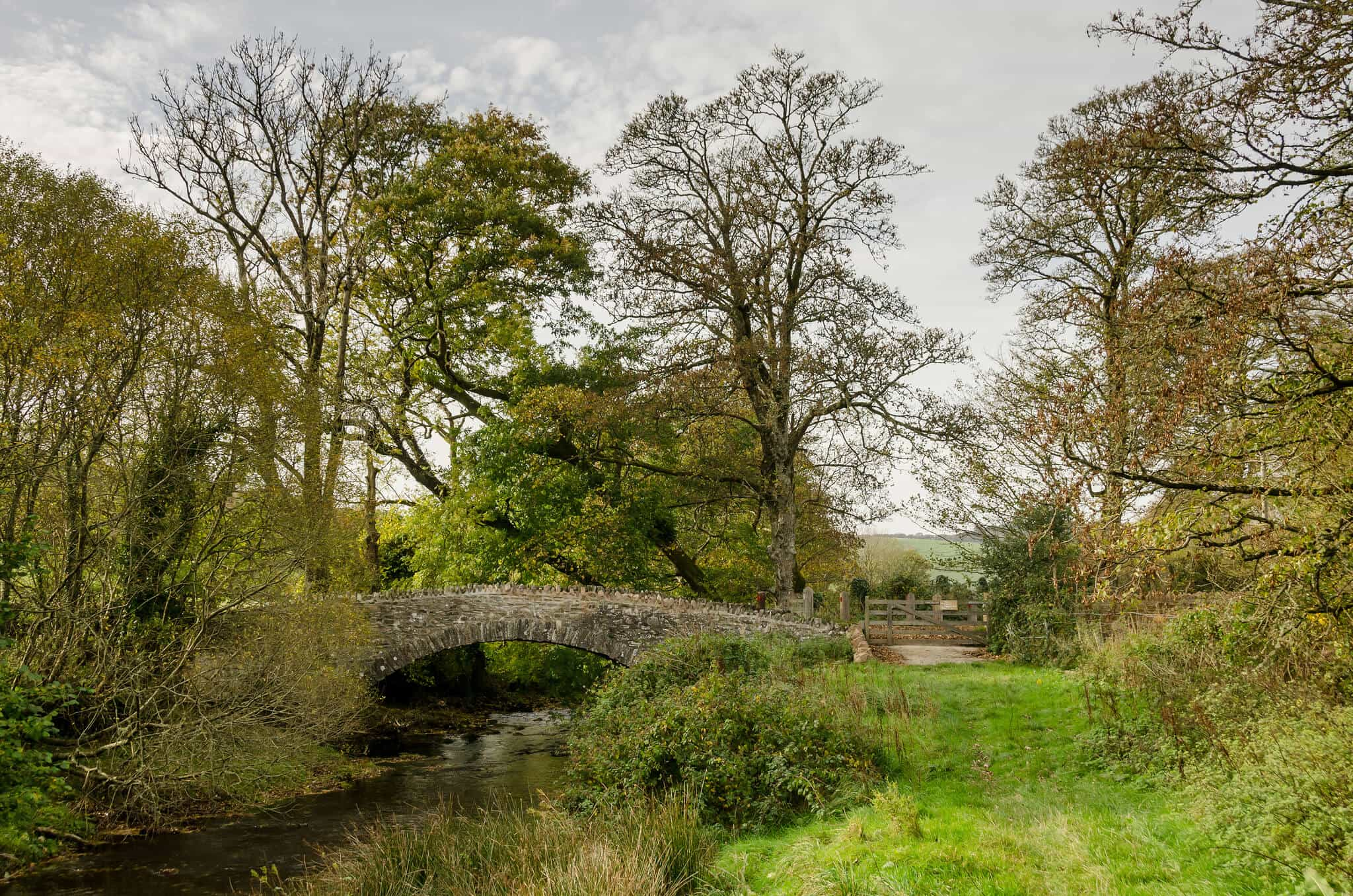 The Oare Bridge, Exmoor Walking Holidays