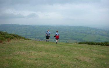 Offa's Dyke Hill Walking