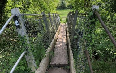 Bridge over Offa's Dyke Path
