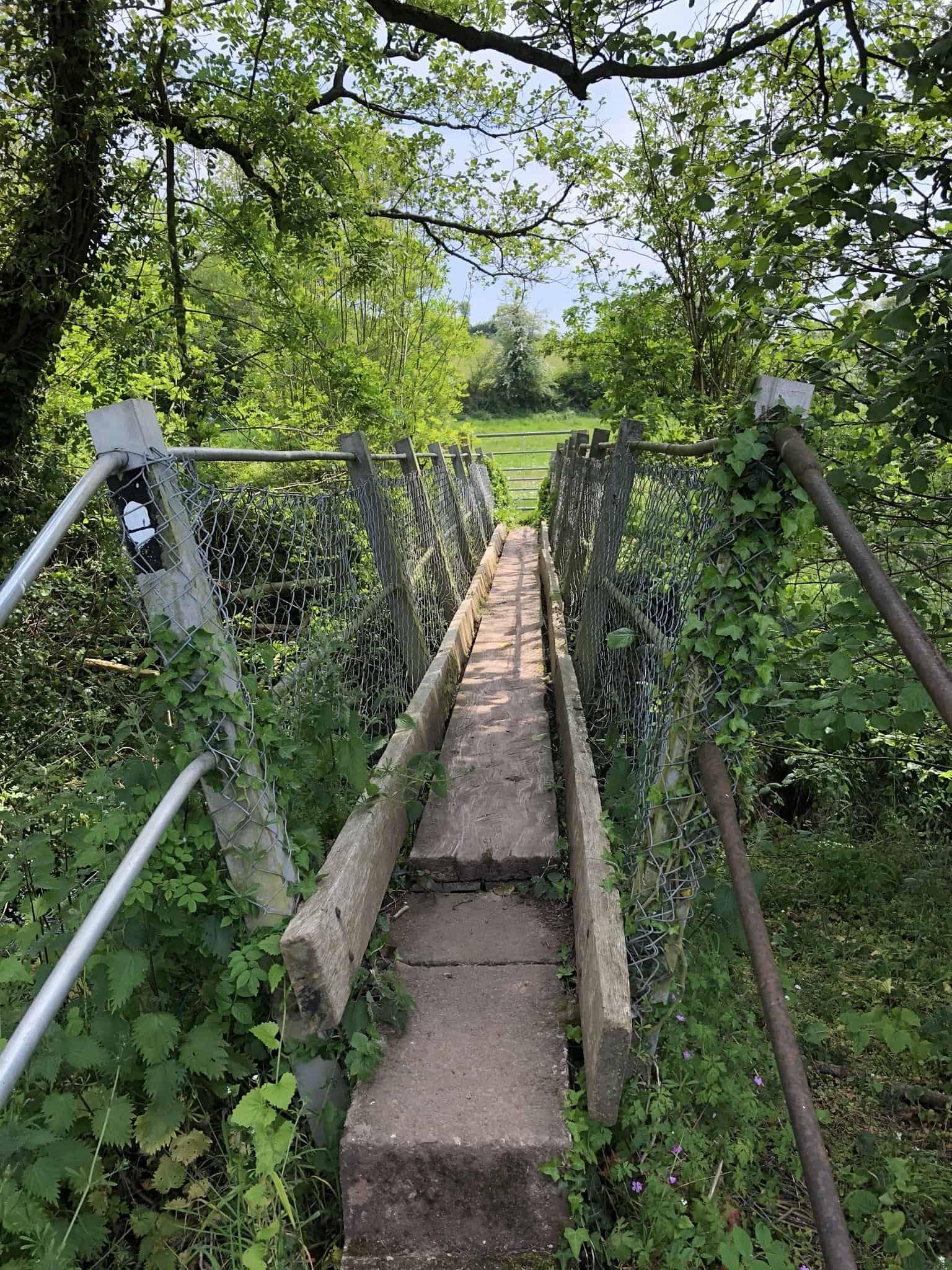 Bridge over Offa's Dyke Path