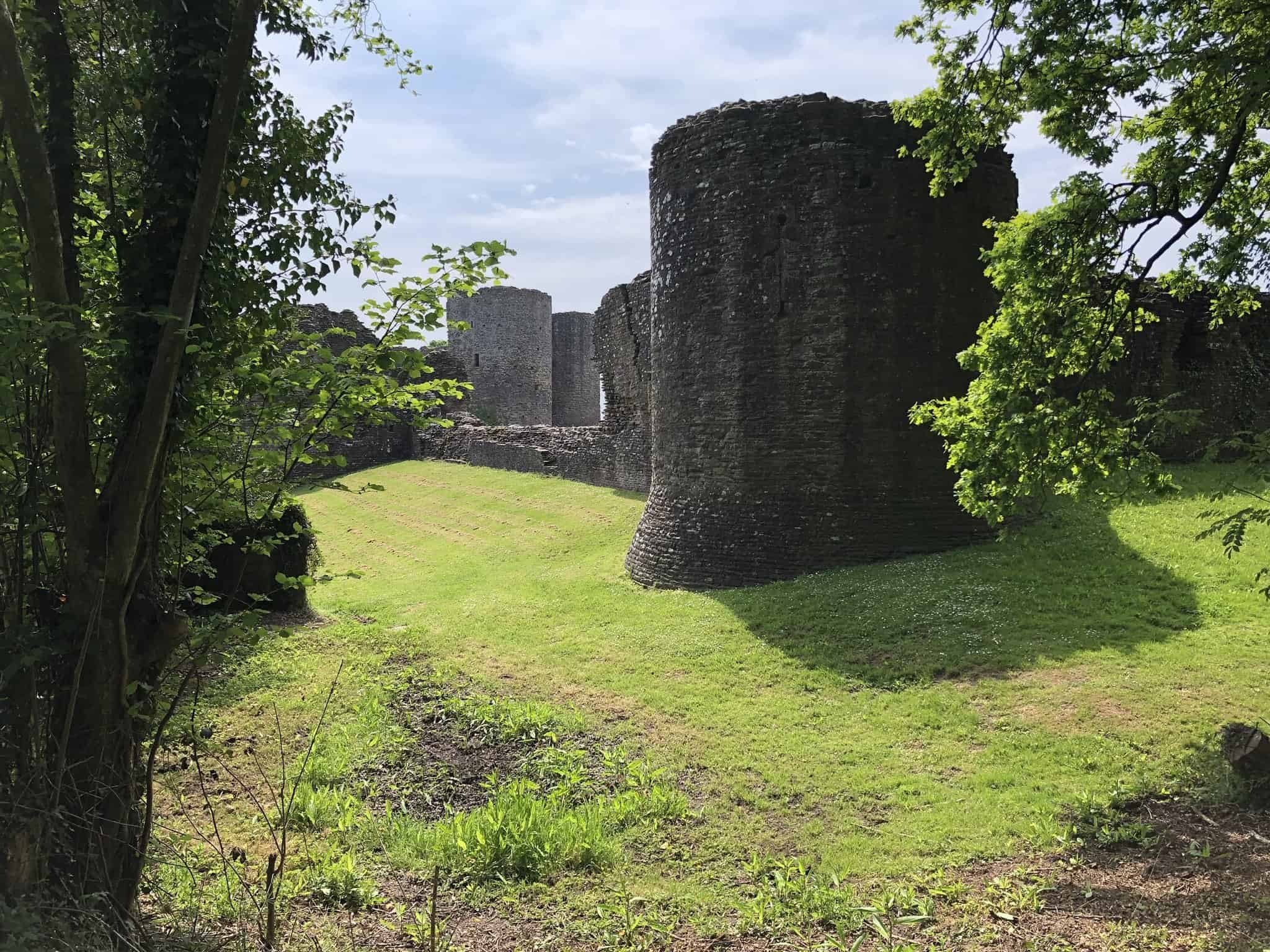Longtown Castle on the Offa's Dyke Path