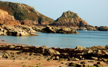 Portelot Bay on the Isle of Jersey