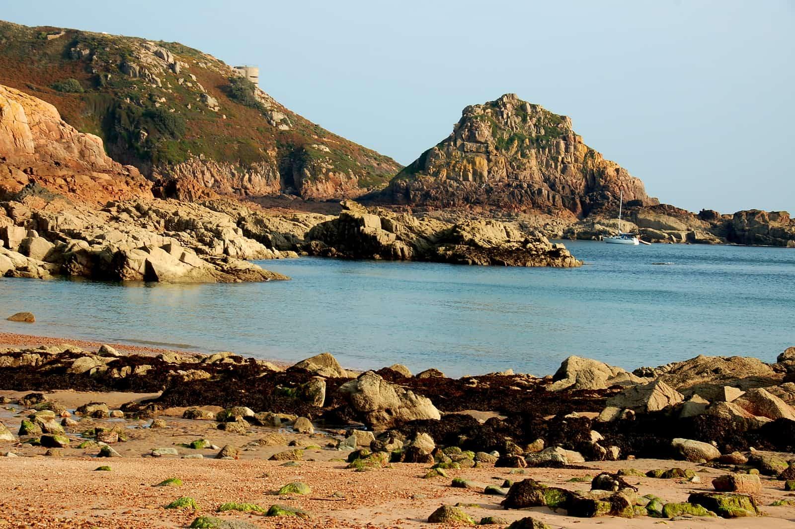 Portelot Bay on the Isle of Jersey