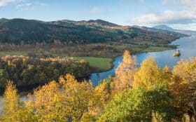 Queens View over Highland Perthshire