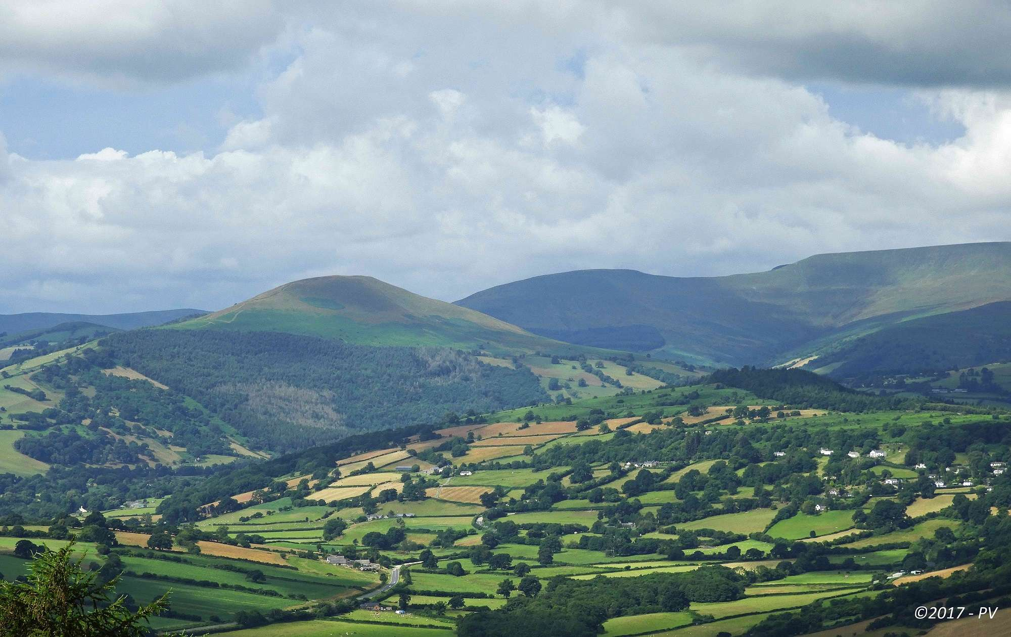 Brecon Beacon's Landscape