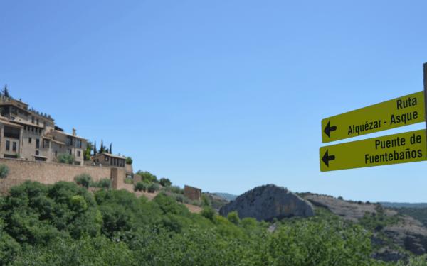 Spanish Walking Holidays Ruta de Alquézar - Asque
