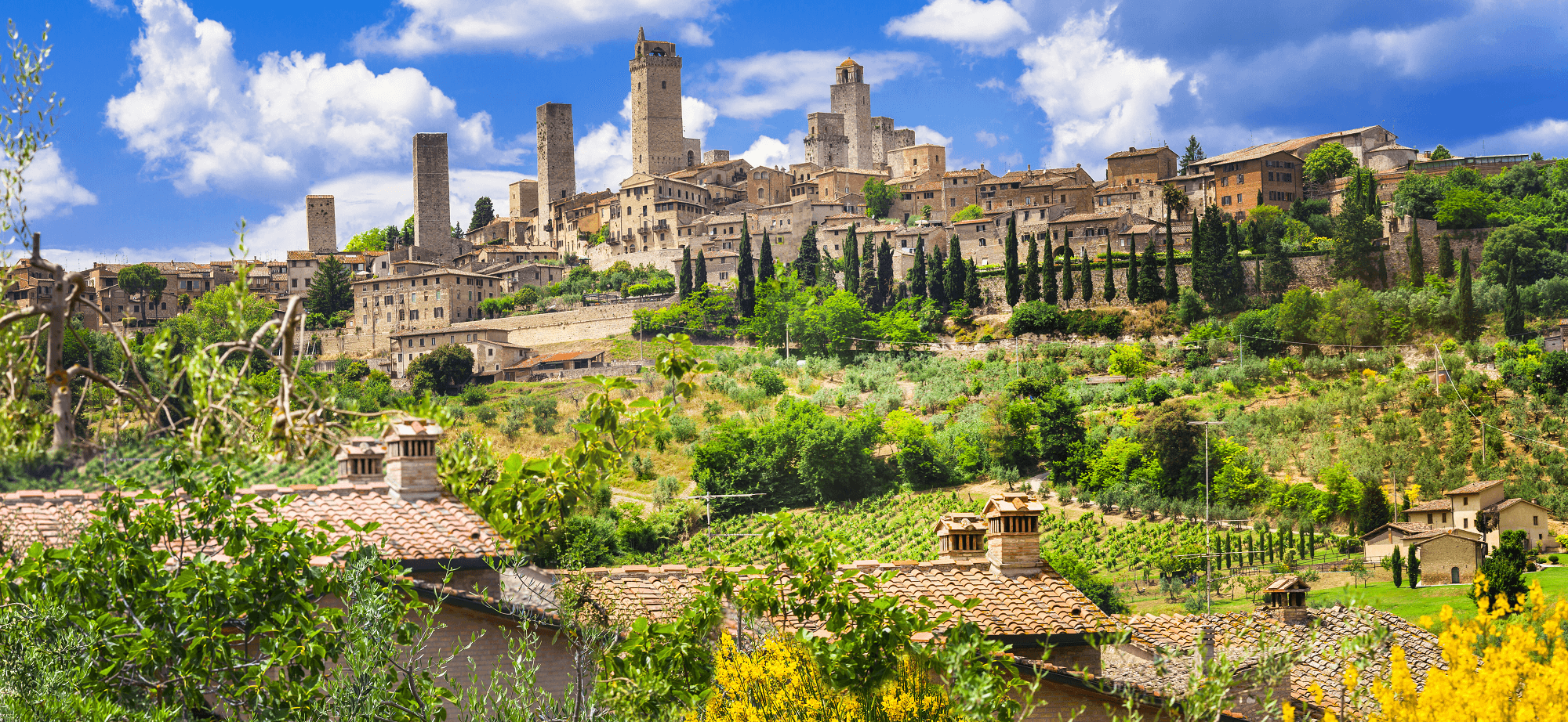 San Gimignano Walking Holidays Via Francigena Toscana