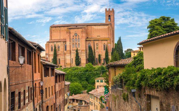 Siena historic city
