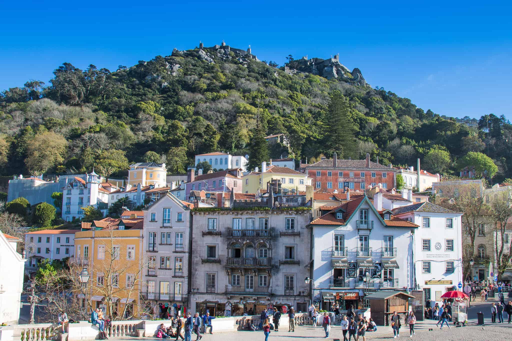 Sintra Town Scene