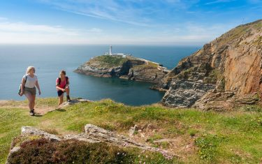 Walking the Wales Coast Path