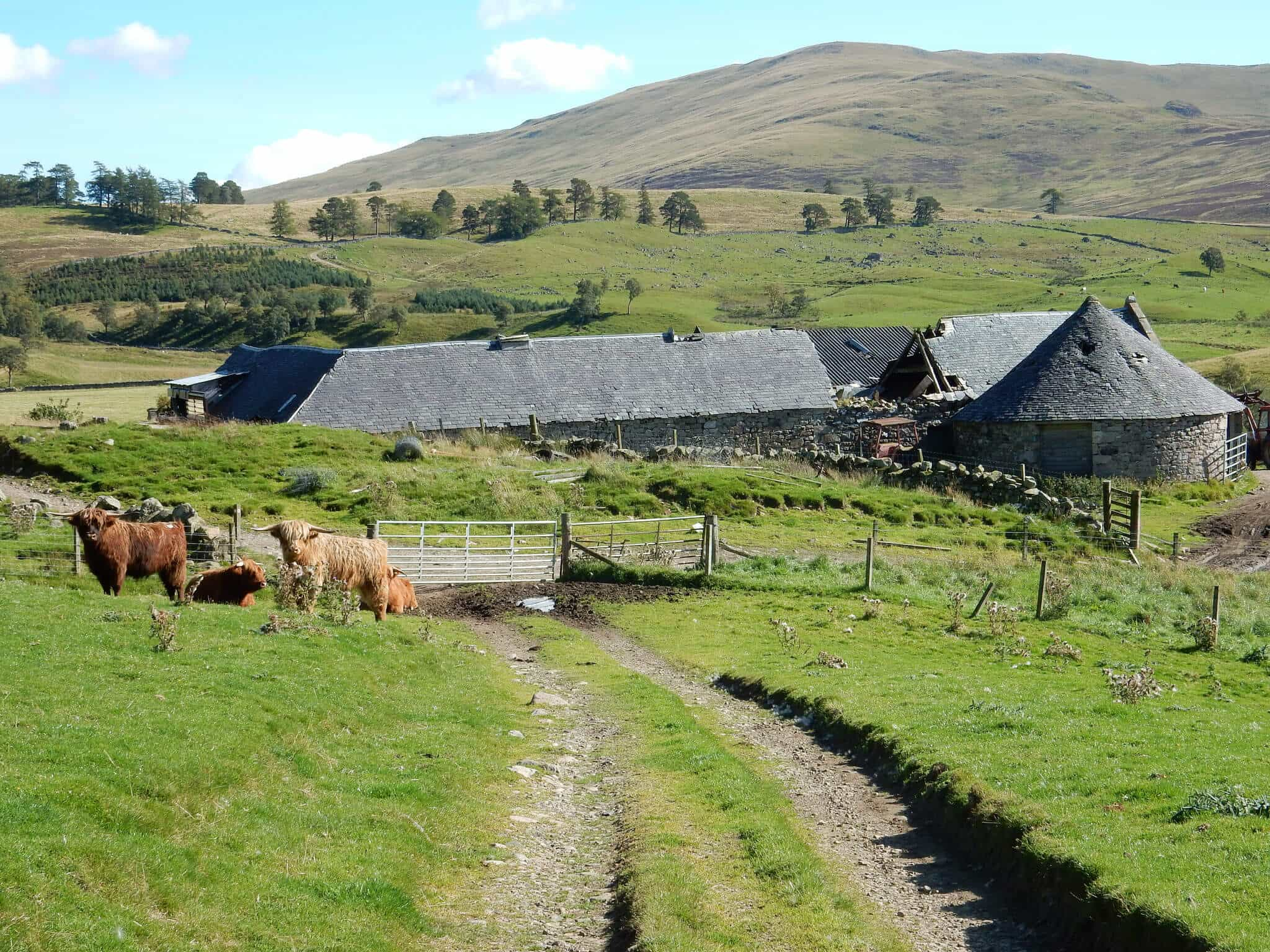 Spittal of Glenshee, Cateran Trail