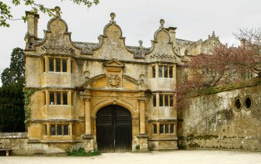 Stanway House on the Cotswolds round walking holiday