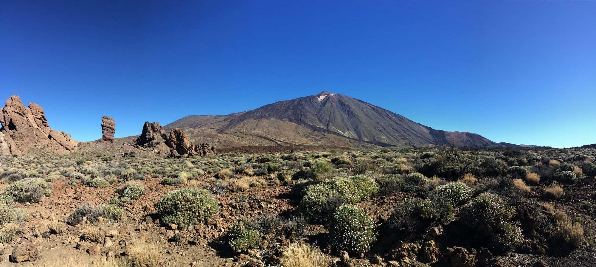 Tenerife Mt Teide