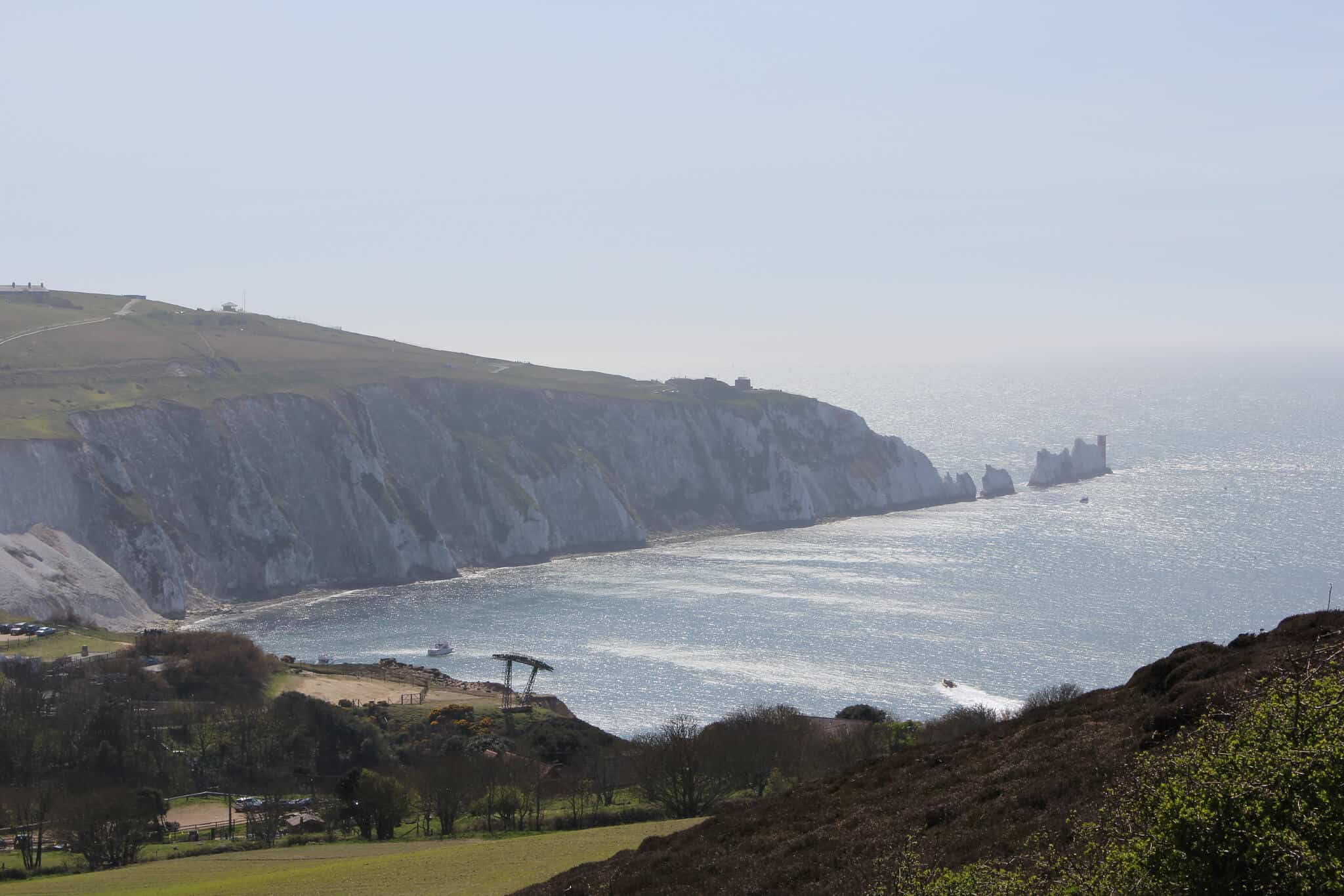 The Needles, Walking Holidays Channel Islands