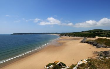 Gower Coast Path Beaches