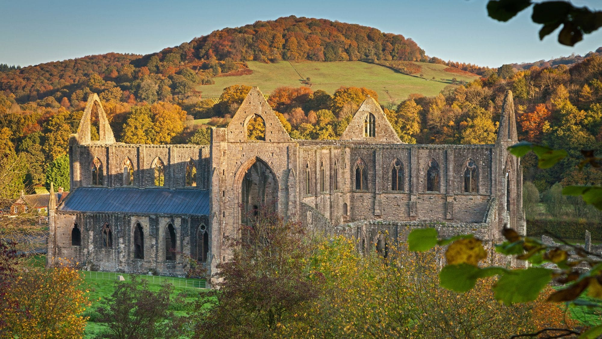 Ruins of Tintern Abbey as seen on Gilpin Wye Tour