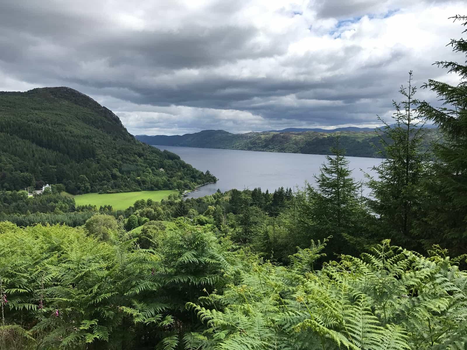 Trail to Invermoriston, Scotland hiking holidays