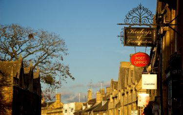 The Bantam Tearooms in the Cotswolds village of Chipping Campden