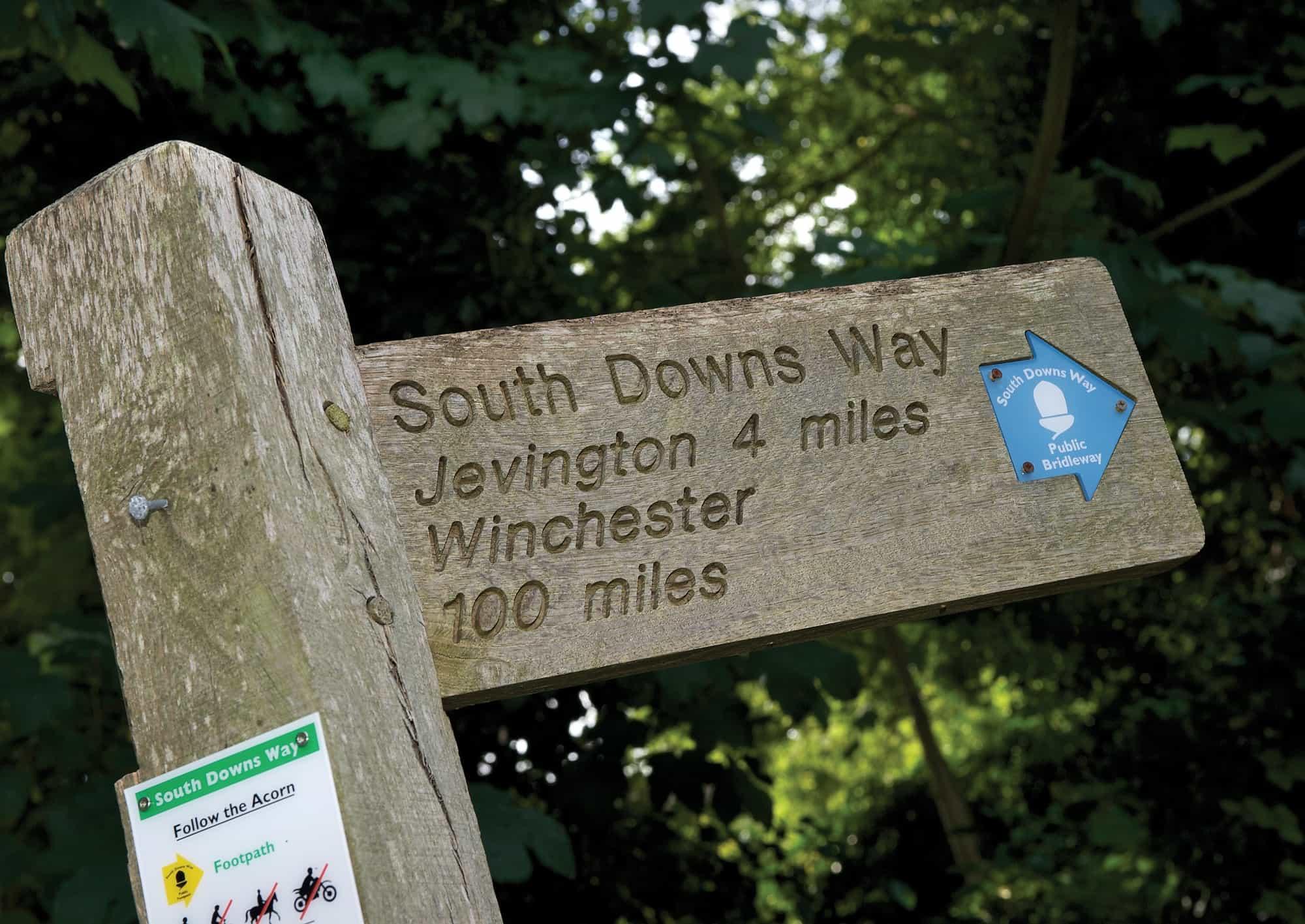 Walking holidays South Downs Way