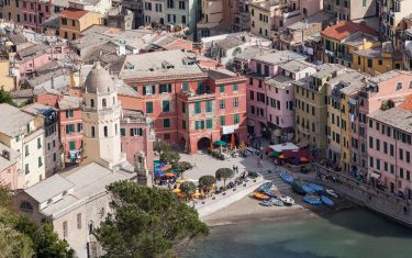 Vernazza Arial Shot