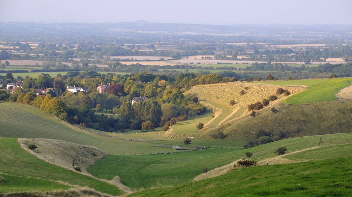 View From Irvinghoe Beacon