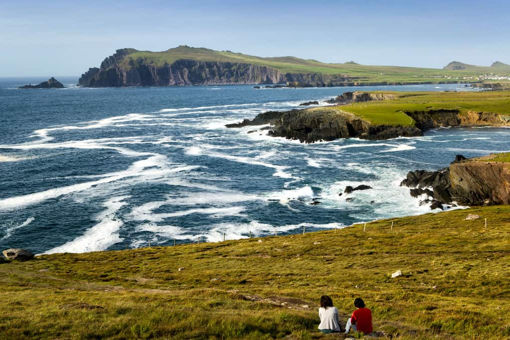 View Over the Coast of Dingle