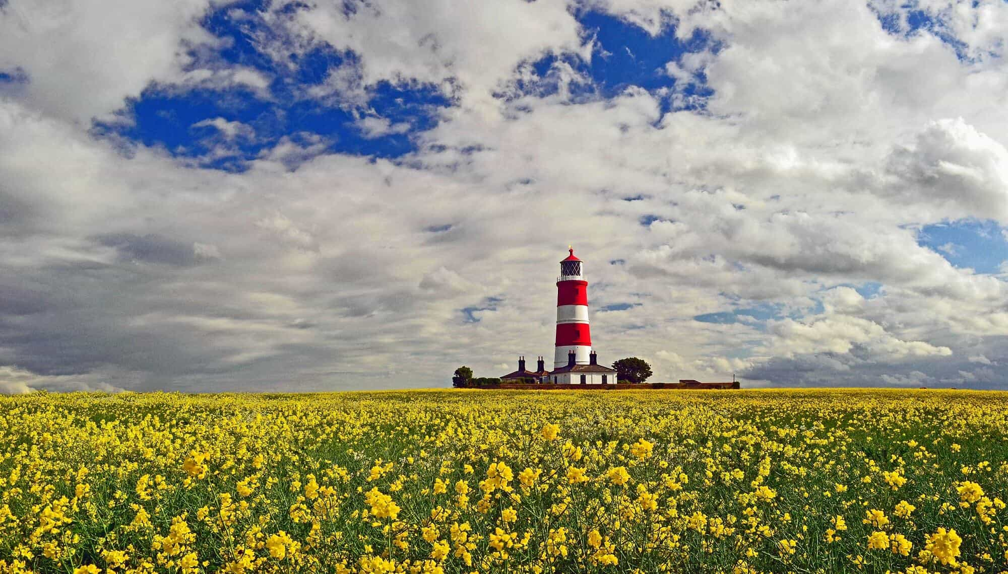 Norfolk Walking Holidays Happisburgh Lighthouse