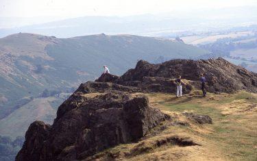 View over Caer Caradoc, Walking Holidays Shropshire hills