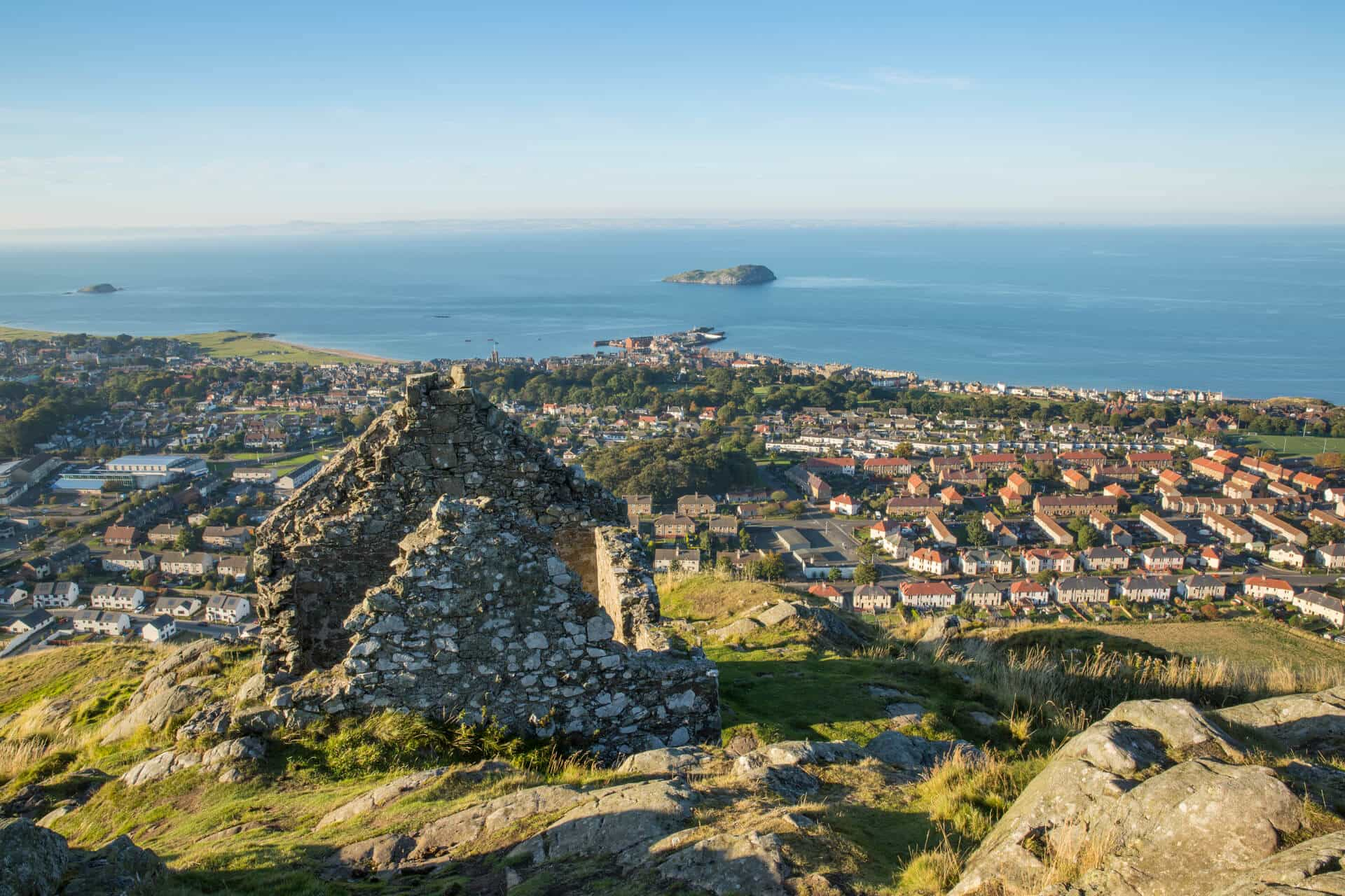 View over North Berwick