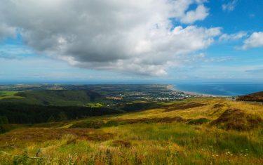Ramsey countryside Isle of Man