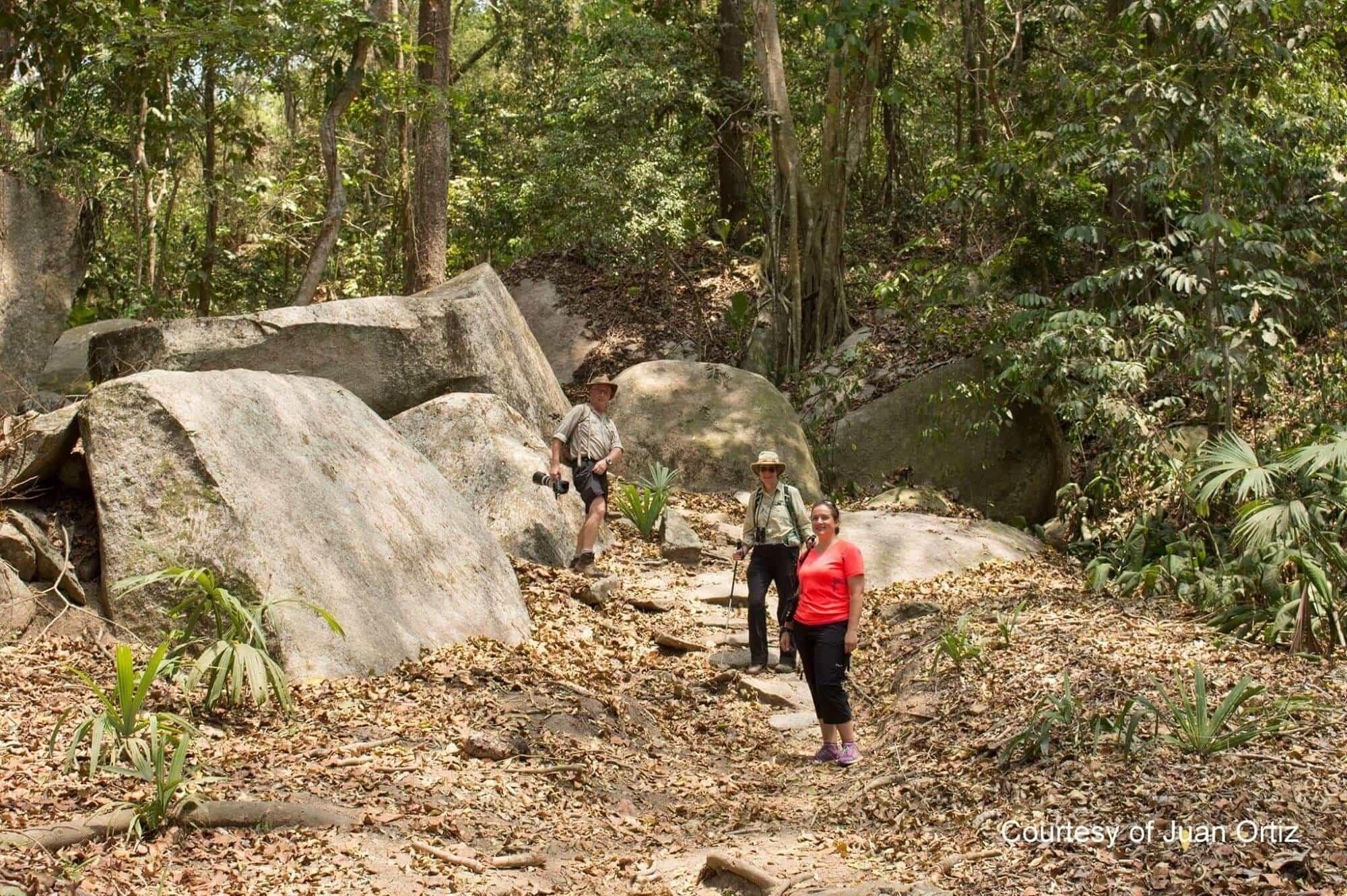 Walking along the ancient path, PNN Tairona
