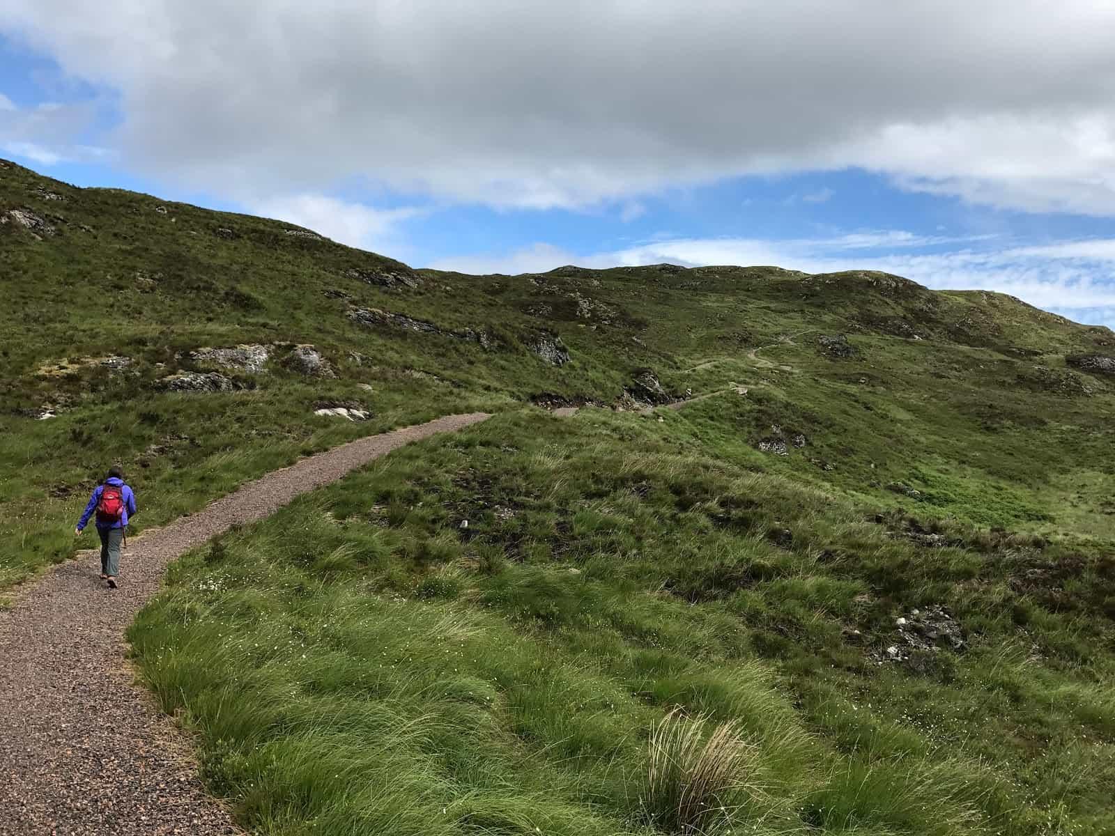 Trail to Loch Ness Scottish Hiking Trails