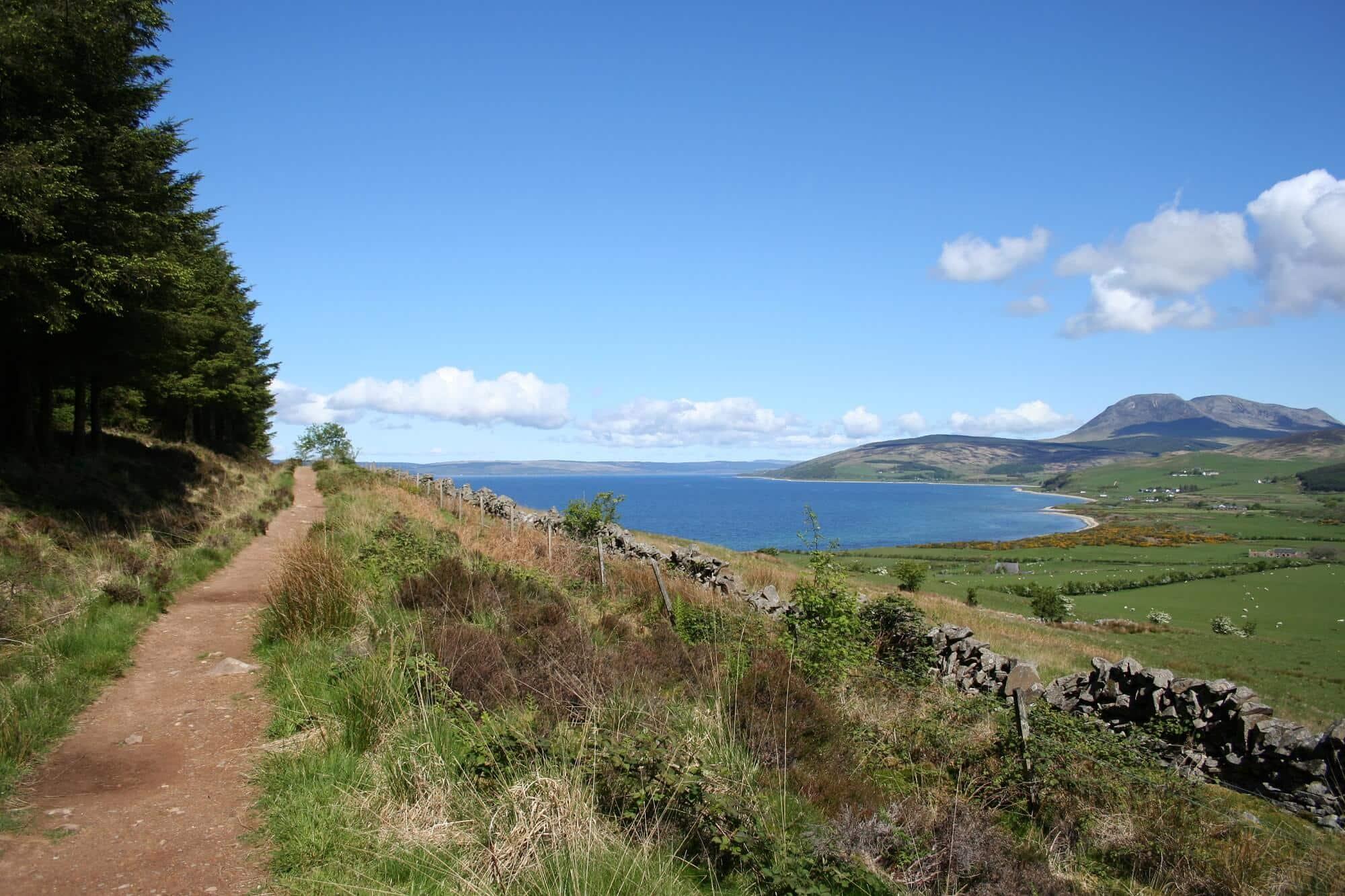 West coast Isle of Arran