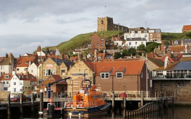 Whitby Harbour, Walking the Cleveland Way