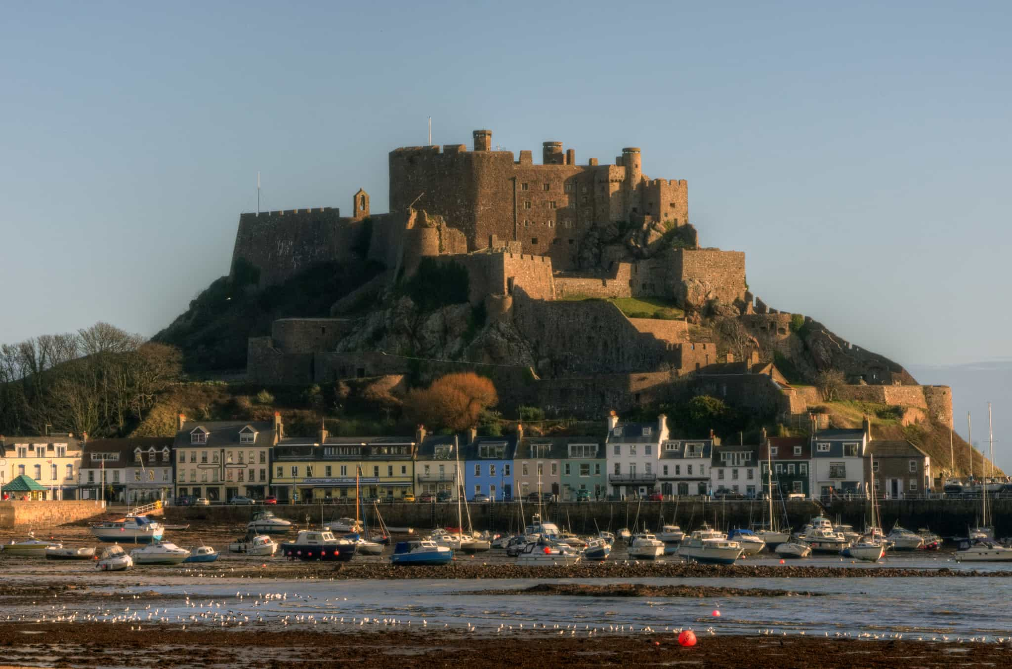 gorey castle, Jersey Walking Holidays