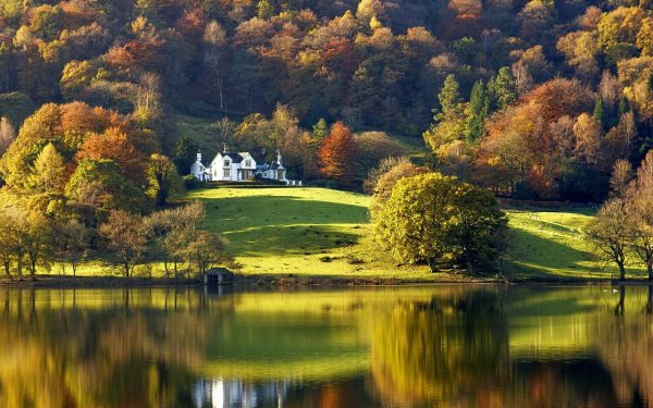 lakes-lake-english-cumbria-grasmere-reflection-district-nature-autumn-england
