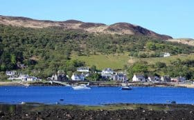 Lochranza and Loch Ranza, Walks on Arran