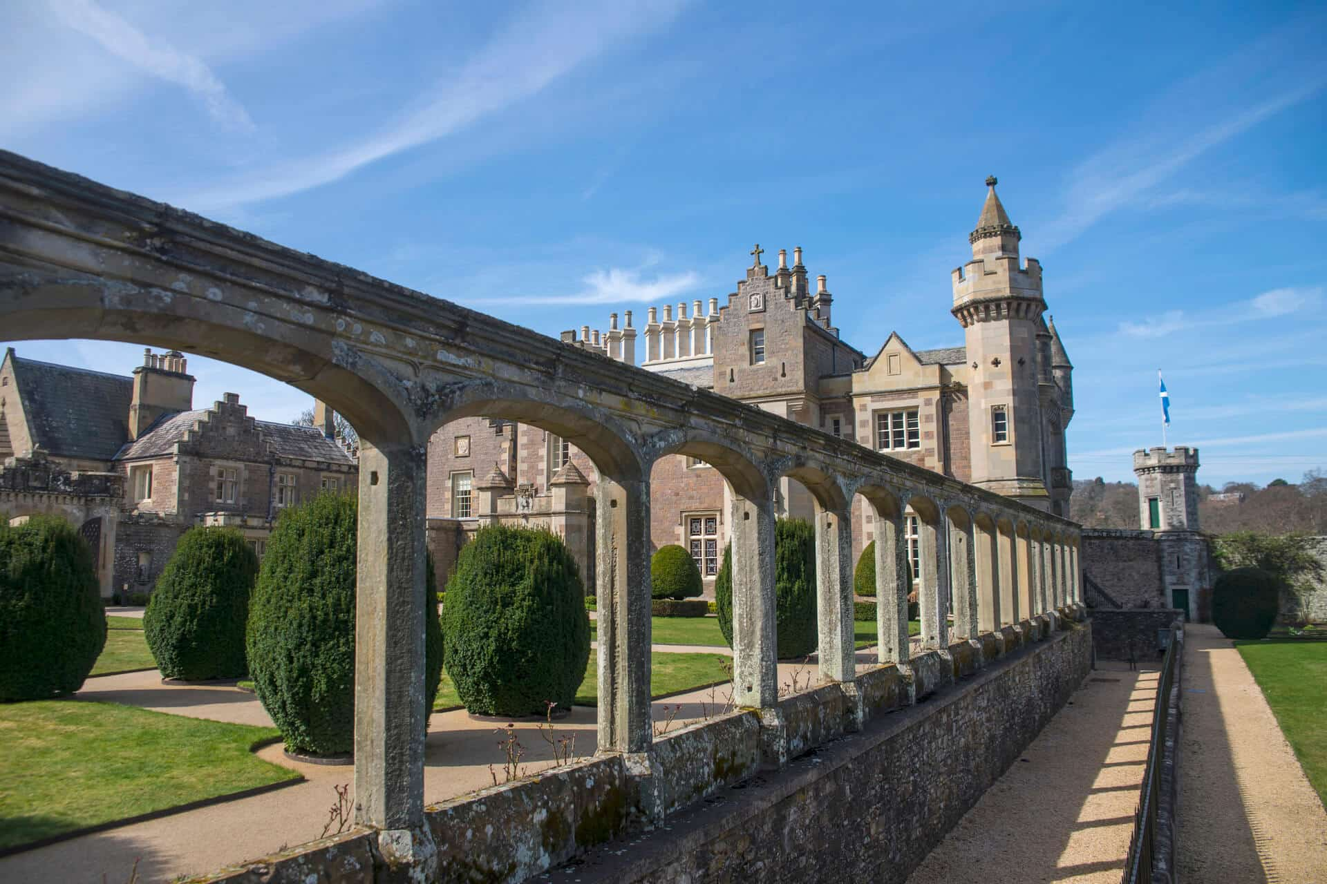 Abbotsford House, Sir Walter scott's home between Selkirk and Melrose