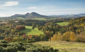 Eildon Hill, Walter Scott's view